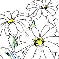 iPhone-Case-Flower-Daisy2 by Gordon Punt