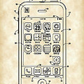 iPhone Patent - Vintage by Stephen Younts