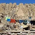 Iran Kandovan Stone Village Laundry by Lois Ivancin Tavaf