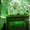 Iran Shiraz Mausoleum by Lois Ivancin Tavaf