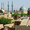 Iran Yazd From The Rooftops  by Lois Ivancin Tavaf