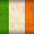 Ireland Flag Vintage Distressed Finish by Design Turnpike