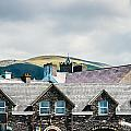 Ireland Hills And Roof Tops by Edward Peterson