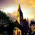 Ireland St. Brendan's Cathedral by Ellen Cannon