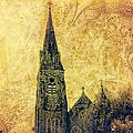 Ireland St. Brendan's Cathedral Spire by Ellen Cannon