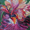 Iris - Bold Impressionist Painting by Quin Sweetman