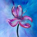 Iris In Pastel by Frank Bright