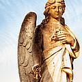 Irish Angel In Dublin by Mark Tisdale