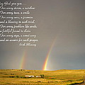 Irish Blessing Double Rainbow 07 11 14 by Joyce Dickens