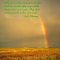 Irish Blessing Rain On The Prairie by Joyce Dickens