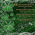 Irish Blessing by Shannon Story