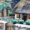 Irish Cottage by Linda Markwardt