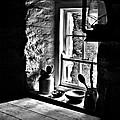 Irish Cottage Window by Nigel R Bell