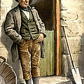 Irish Peasant Farmer by Vintage Image