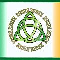 Irish Triquetra by Ireland Calling