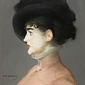 Irma Brunner by Edouard Manet