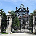 Iron Gate - The Breakers - Rhode Island by Christiane Schulze Art And Photography