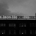 Iron Ho-ho  Black And White by Susan McMenamin