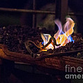 Iron In Fire Oiltreatment by Iris Richardson