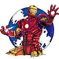Iron Man by Dave Olsen