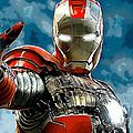 Iron Man by Marvin Blaine