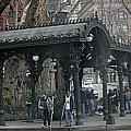 Iron Pergola Pioneer Square by James Connor