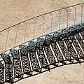 Iron Stairs Shadow by Christiane Schulze Art And Photography