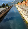 Irrigation Canal by Grigorios Moraitis