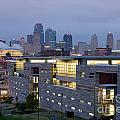 Irs Complex In Downtown Kansas City Mo by Bill Cobb