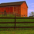 Is Every Barn Red by Frozen in Time Fine Art Photography