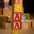 Isaac - Alphabet Blocks by Edward Fielding