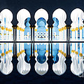 Islamic Architecture Of Abu Dhabi Grand Mosque - Uae by Matteo Colombo
