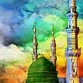 Islamic Painting 009 by Catf