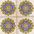 Islamic Tiles 03 by Antony McAulay