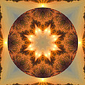 Island Beach Sunset Mandala by Beth Sawickie