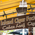 Island Cigar Factory Key West  by Ian Monk