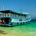 Island Ferry  by Adrian Evans