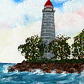 Island Lighthouse by Barbara Griffin