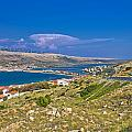 Island Of Pag Aerial Bay View by Brch Photography