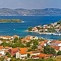 Island Of Veli Iz Panoramic View by Brch Photography