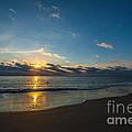 Coastal Beach Sunrise by Dale Powell