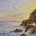 Island Sunset by April McCarthy-Braca