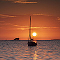 Island Sunset by Bill Cannon