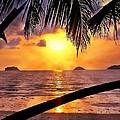 Island Sunset by Ian Gledhill