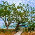 Island Time On Daniel Island by Dale Powell