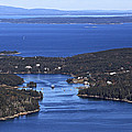 Isle Au Haut Harbor by Dave Cleaveland