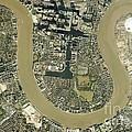 Isle Of Dogs, Aerial Photograph by Getmapping Plc