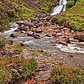 Isle Of Skye Waterfall by Marcia Colelli