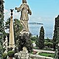 Isola Bella And Lake Maggiore by Elvis Vaughn