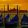 Isola Di San Giorgio Maggiore In Venice by Al Bourassa
